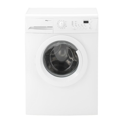 IKEA RENLIG FWM8 washing machine 5 year guarantee. Read about the terms in the guarantee brochure.