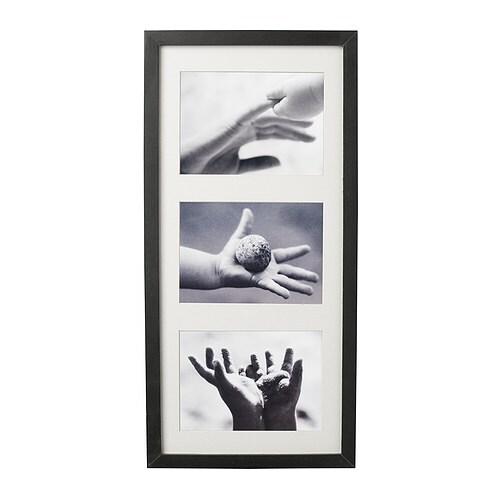 ribba frame black 50x23 cm ikea. Black Bedroom Furniture Sets. Home Design Ideas
