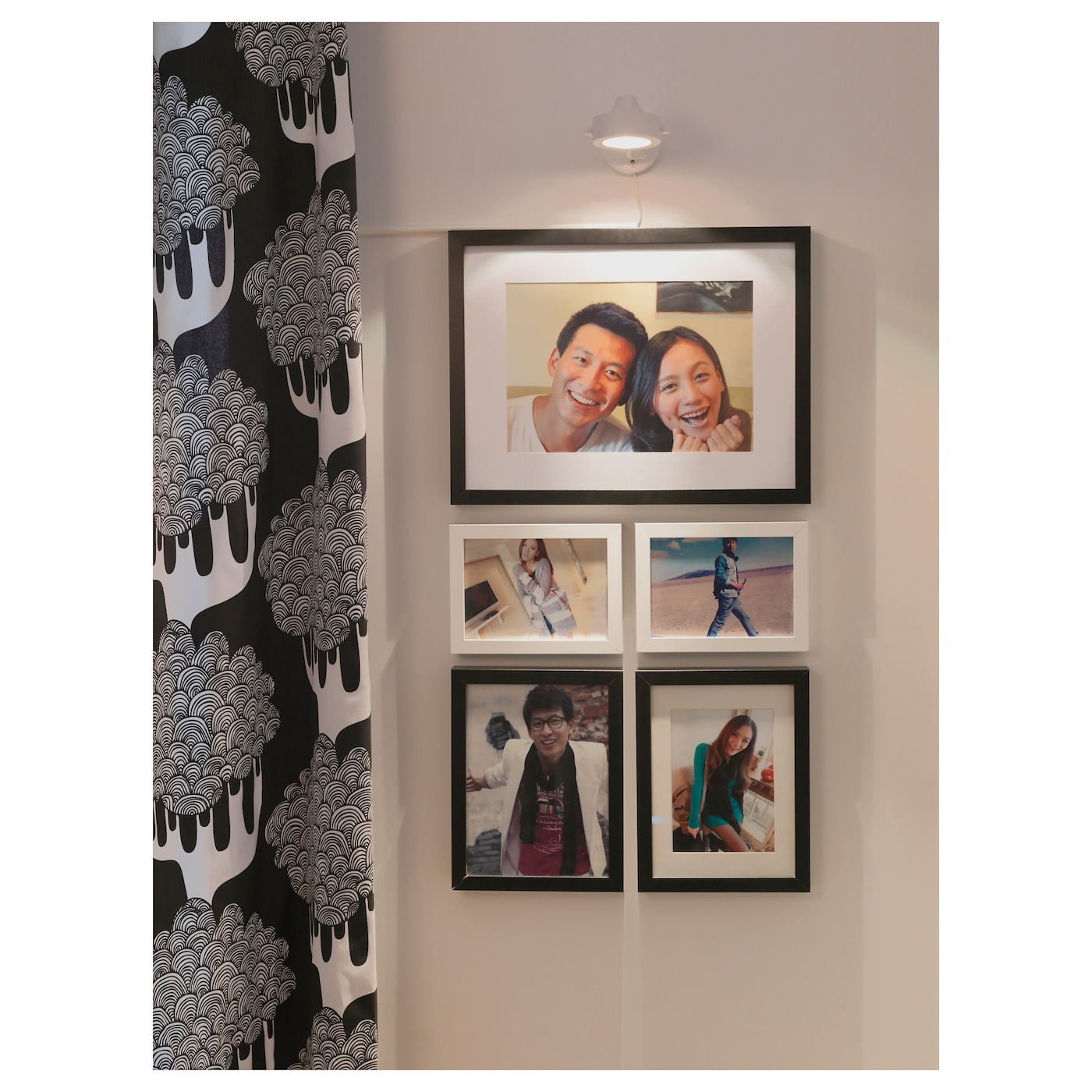 IKEA RIBBA frame Fits A4 size pictures if used with the mount.
