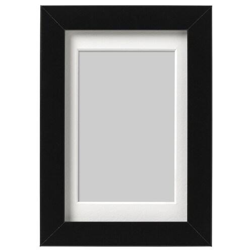 Ribba Frame Black 10x15 Cm Ikea Ireland