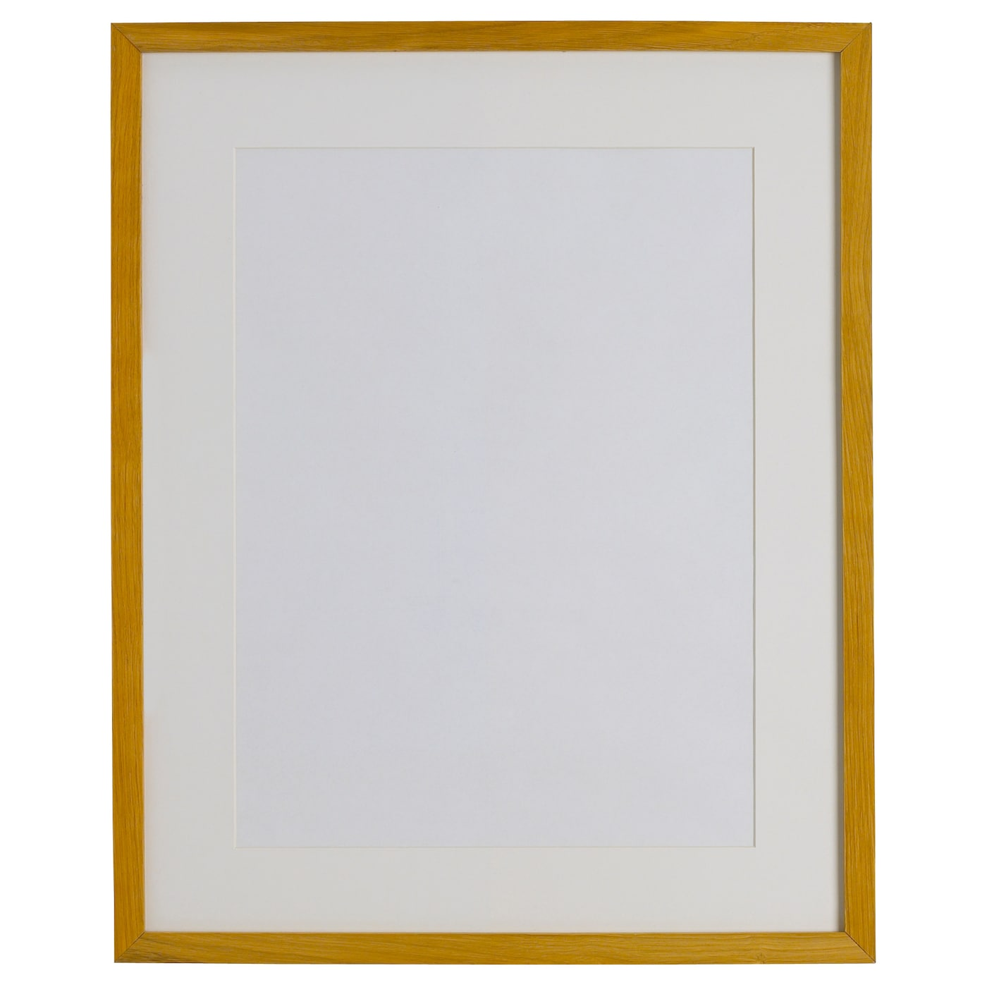Ribba frame oak effect 40x50 cm ikea for Ikea ribba weiay