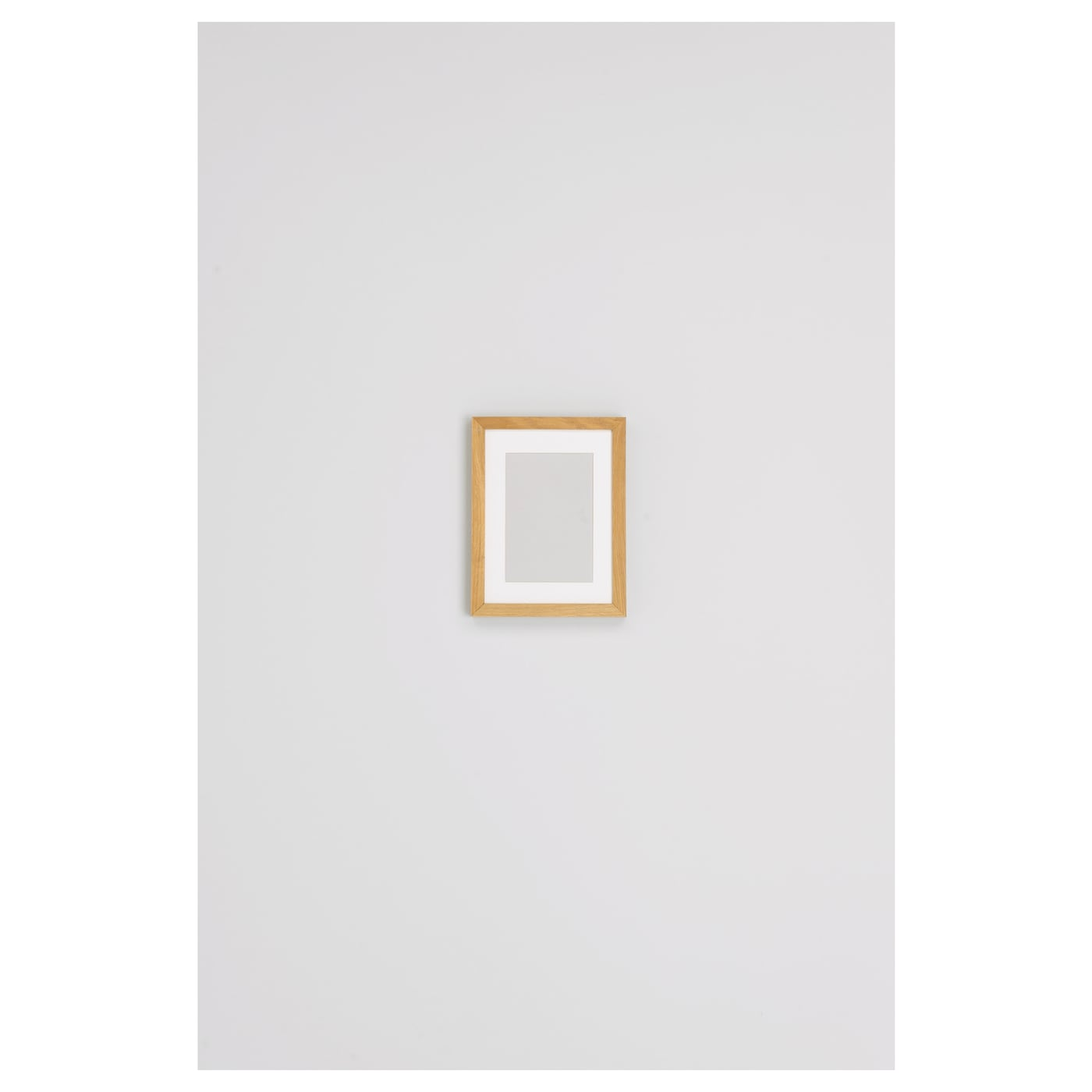 IKEA RIBBA frame PH-neutral mount; will not discolour the picture.
