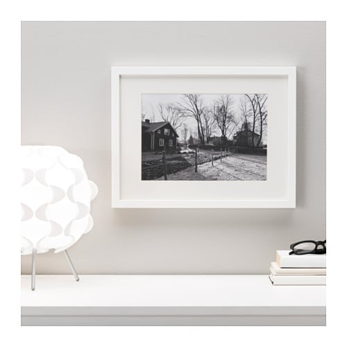 Ikea Wandregal Ribba ~ IKEA RIBBA frame Fits A4 size pictures if used with the mount