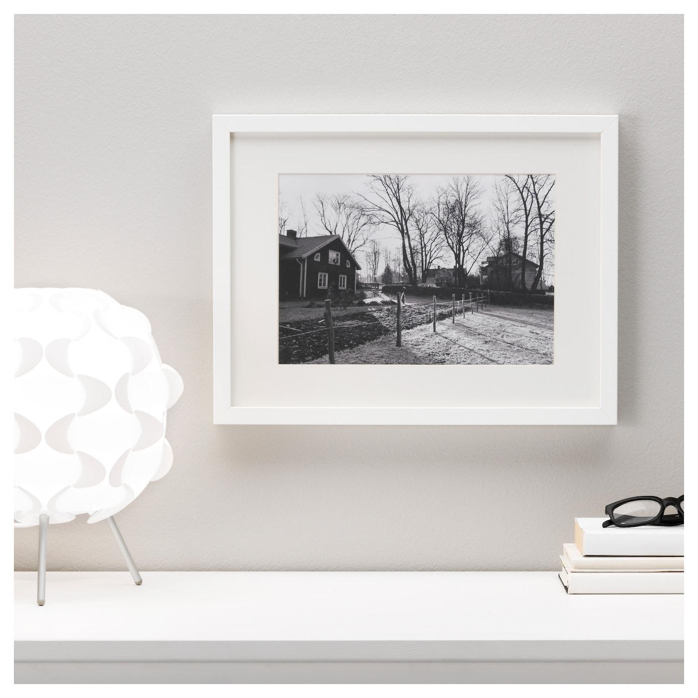 ribba frame white 30x40 cm ikea. Black Bedroom Furniture Sets. Home Design Ideas