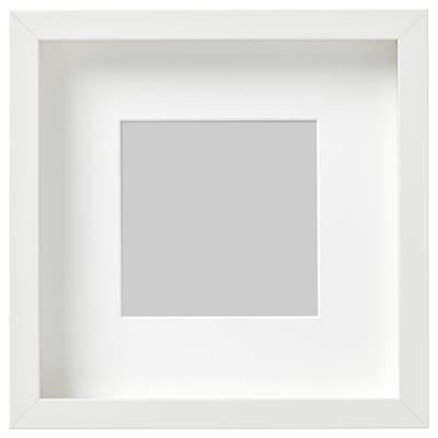 RIBBA frame white 23 cm 23 cm 13 cm 13 cm 12 cm 12 cm 4.5 cm 25 cm 25 cm