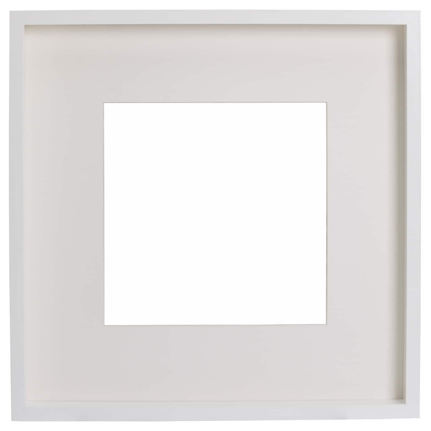 Ribba frame white 50x50 cm ikea for Ikea ribba weiay