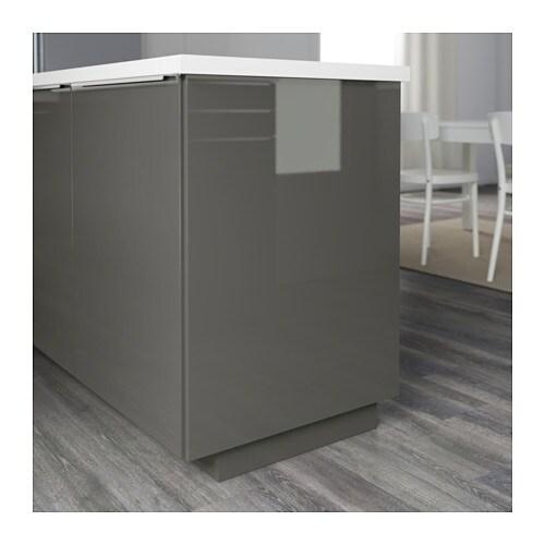 Ringhult Cover Panel High Gloss White 39x106 Cm: RINGHULT Cover Panel High-gloss Grey 62x220 Cm