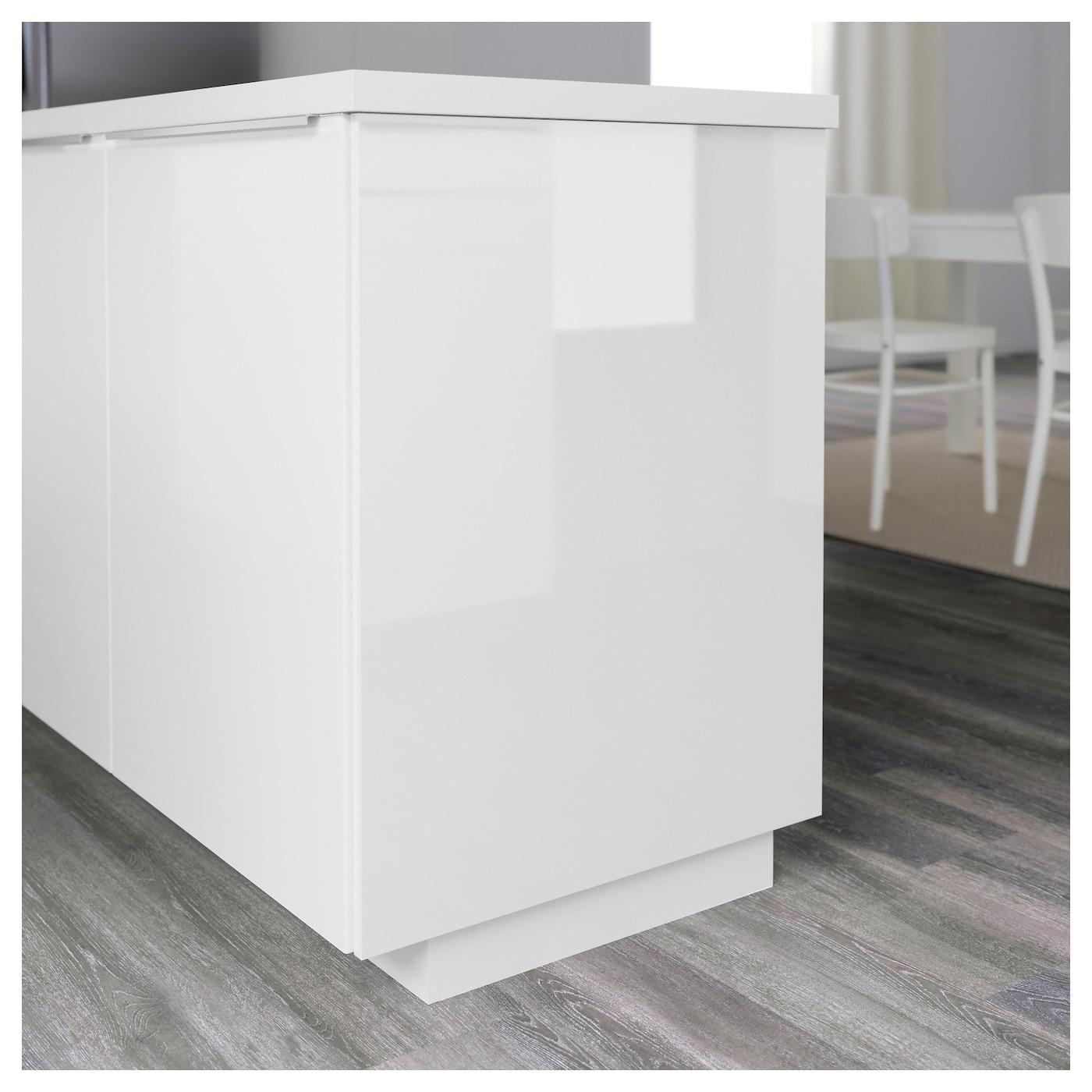Ringhult Cover Panel High Gloss White 39x106 Cm Ikea