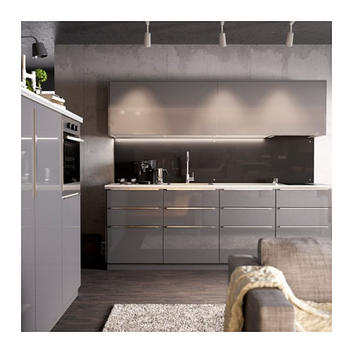 Ringhult door high gloss grey 40x80 cm ikea - Cuisine ikea ringhult ...