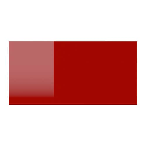 Ringhult drawer front high gloss red 40x20 cm ikea for Red high gloss kitchen doors
