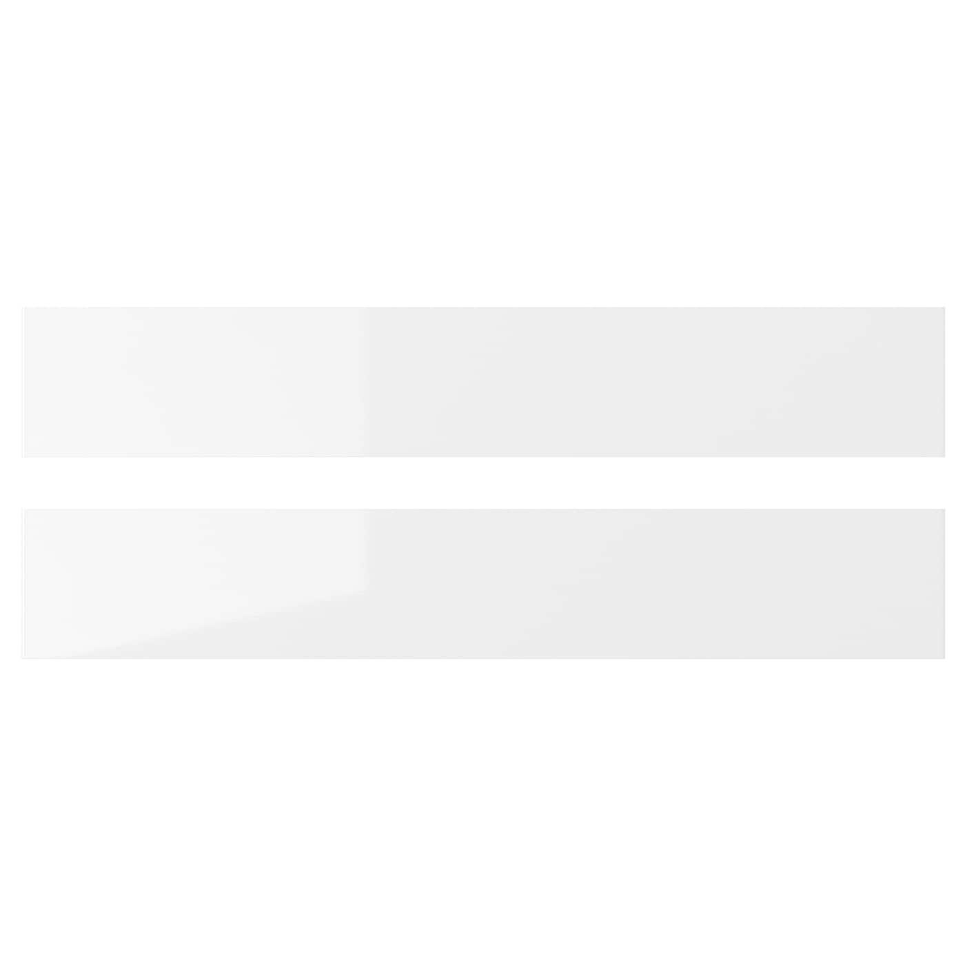 Ringhult Drawer Front High Gloss White 60 X 40 Cm: RINGHULT Drawer Front High-gloss White 60 X 10 Cm