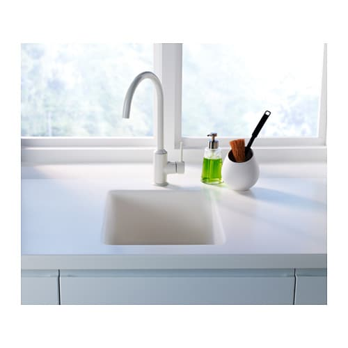 RINGSKÄR Single-lever kitchen mixer tap White - IKEA
