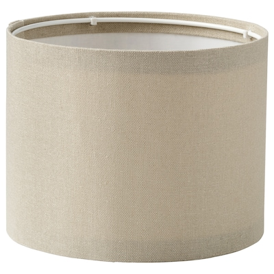 RINGSTA Lamp shade, beige, 19 cm