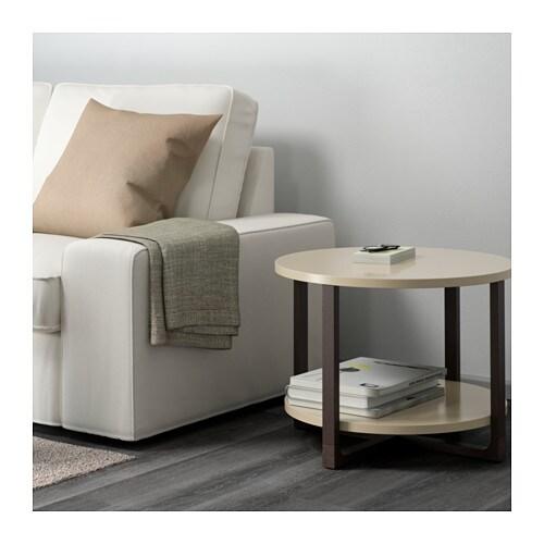RISSNA Side Table Beige 60 Cm