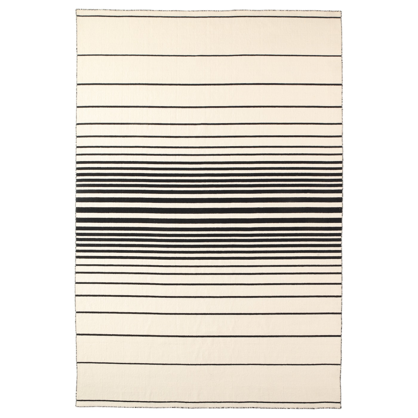 IKEA RISTINGE rug, flatwoven Easy to vacuum thanks to its flat surface.