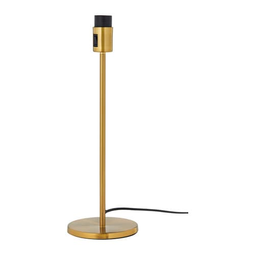 IKEA RODD table lamp base
