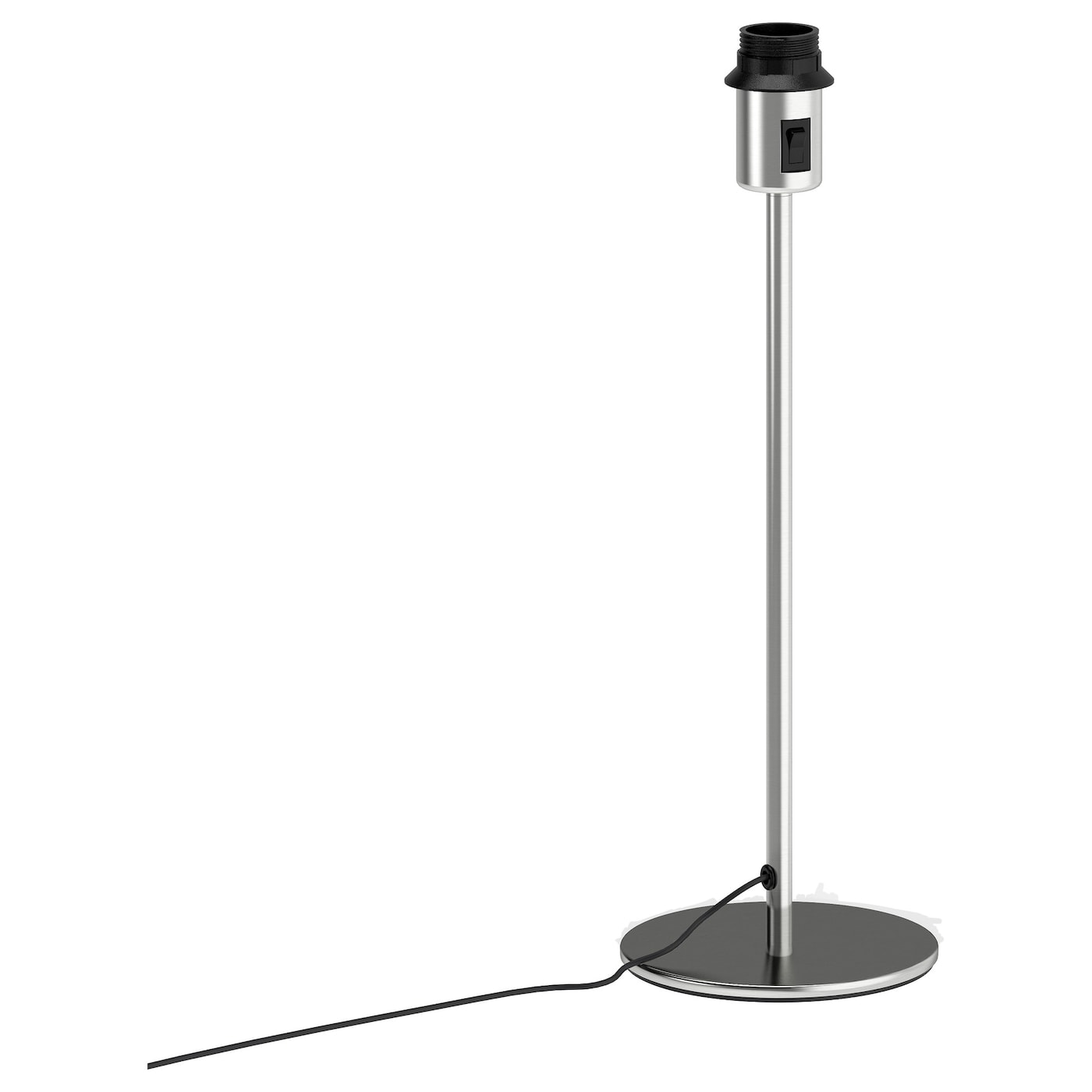 Rodd table lamp base nickel plated 45 cm ikea - Pied de table reglable ikea ...