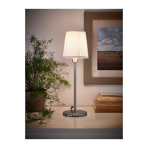 rodd table lamp base nickel plated 35 cm ikea. Black Bedroom Furniture Sets. Home Design Ideas