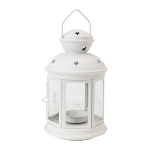 IKEA ROTERA lantern for tealight Suitable for both indoor and outdoor use.