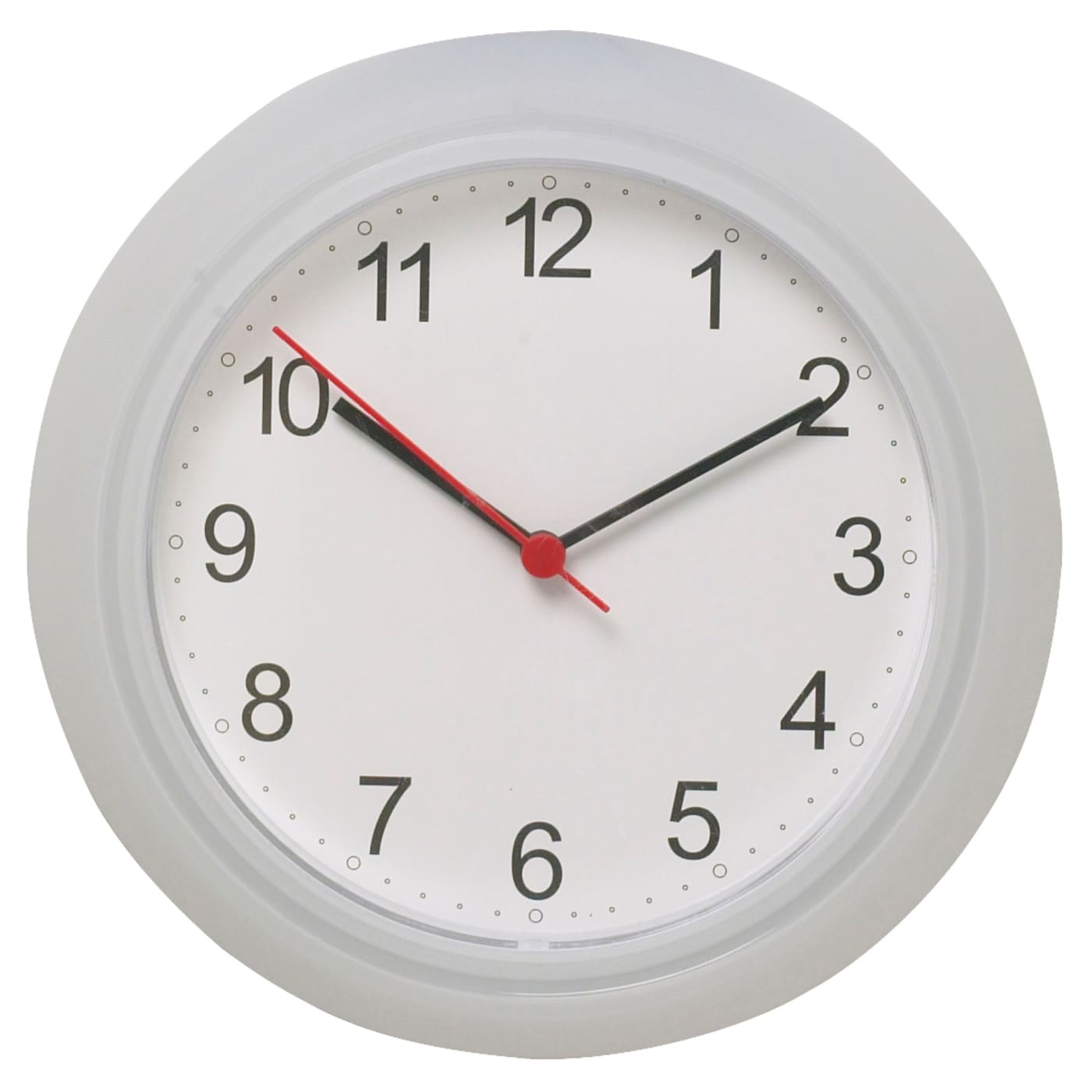 IKEA RUSCH wall clock Highly accurate at keeping time as it is fitted with a quartz movement.