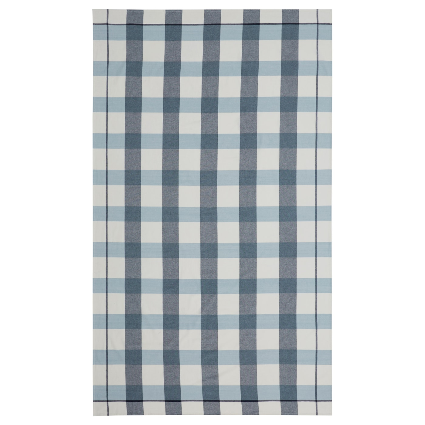 IKEA RUTIG tablecloth Colours are retained wash after wash thanks to the yarn-dyed cotton.