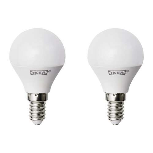 ryet led bulb e14 400 lumen globe opal white ikea. Black Bedroom Furniture Sets. Home Design Ideas