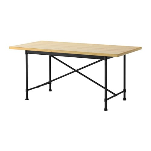 RYGGESTAD RYGGESTAD Table Pine Karpalund Black 170x78 Cm IKEA