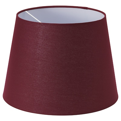 RYRA Lamp shade, wine red, 44 cm