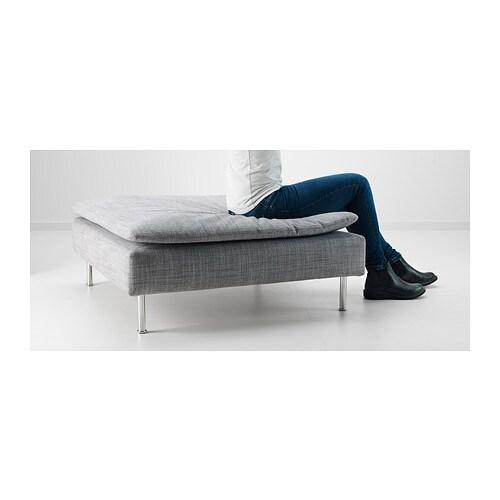 SDERHAMN Footstool Isunda Grey IKEA