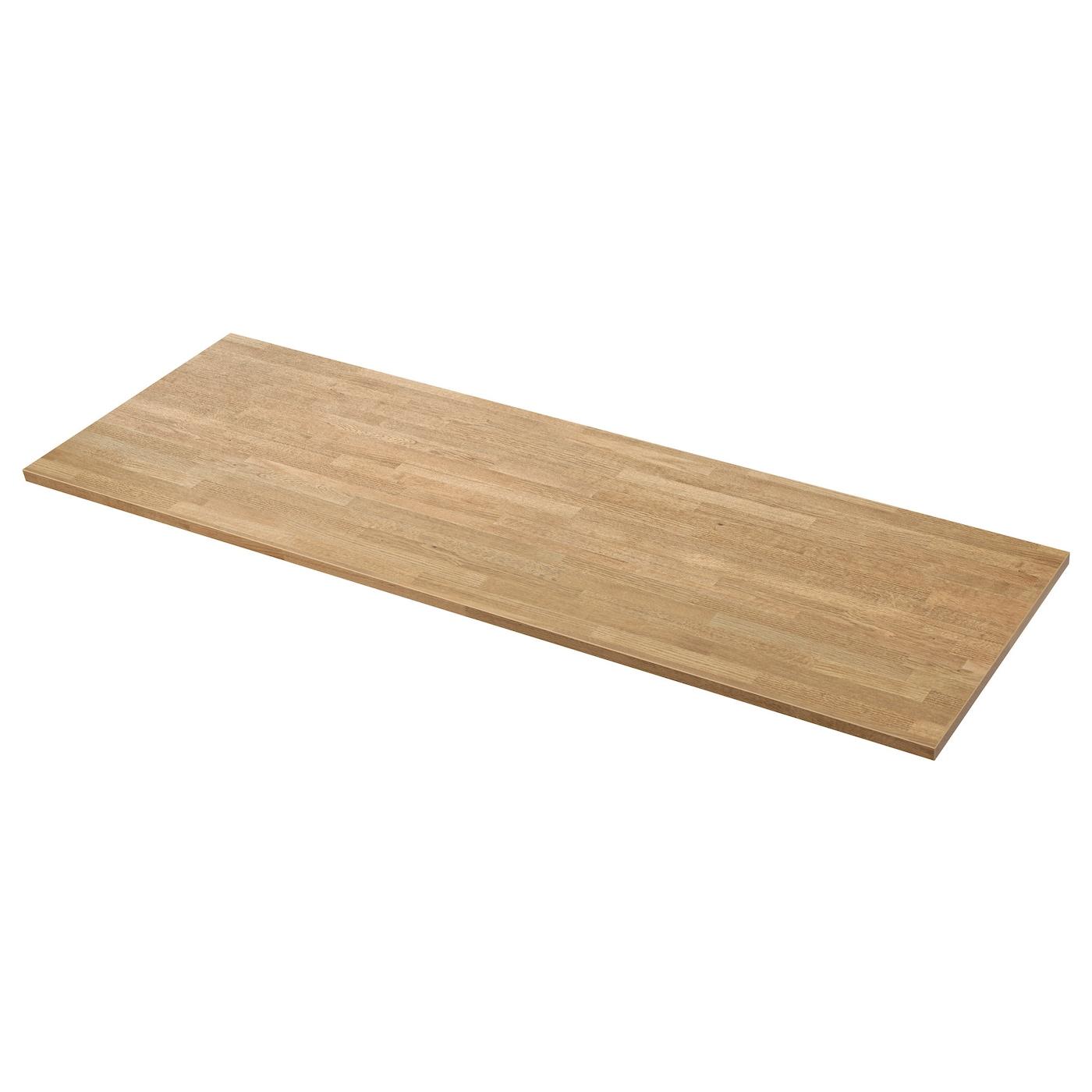 s ljan custom made worktop oak effect laminate 10 45x3 8 cm ikea. Black Bedroom Furniture Sets. Home Design Ideas