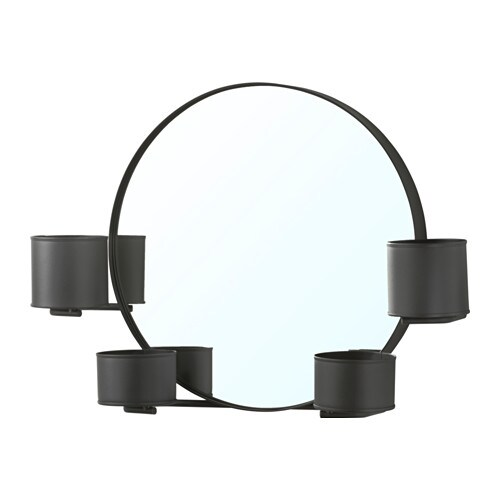 IKEA SÄLLSKAP mirror Provided with safety film - reduces damage if glass is broken.