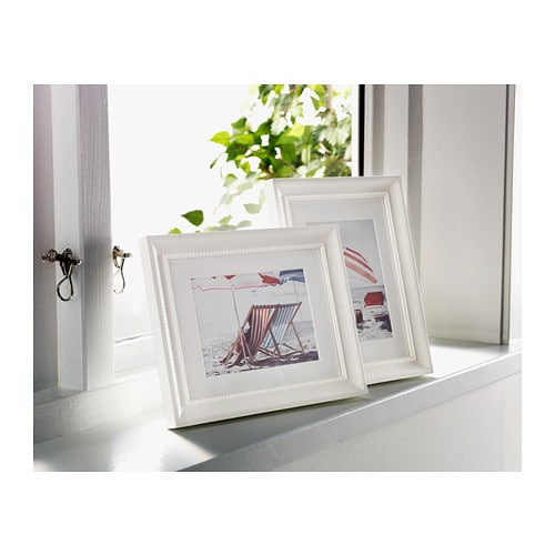 ikea sndrum frame the mount enhances the picture and makes framing easy