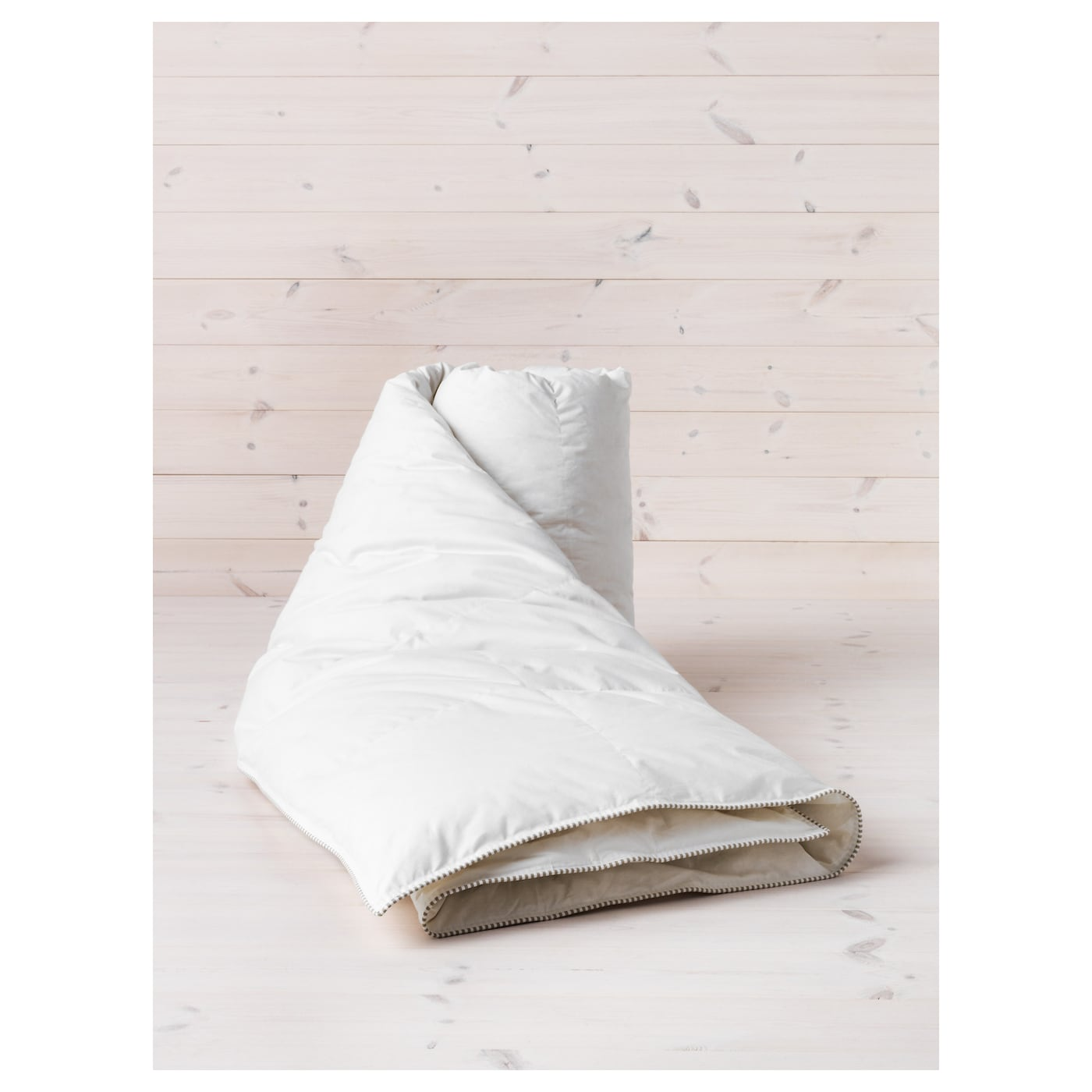 IKEA SÖTVEDEL duvet, 12 TOG An extra warm quilt in soft cotton, filled with duck down and feathers.