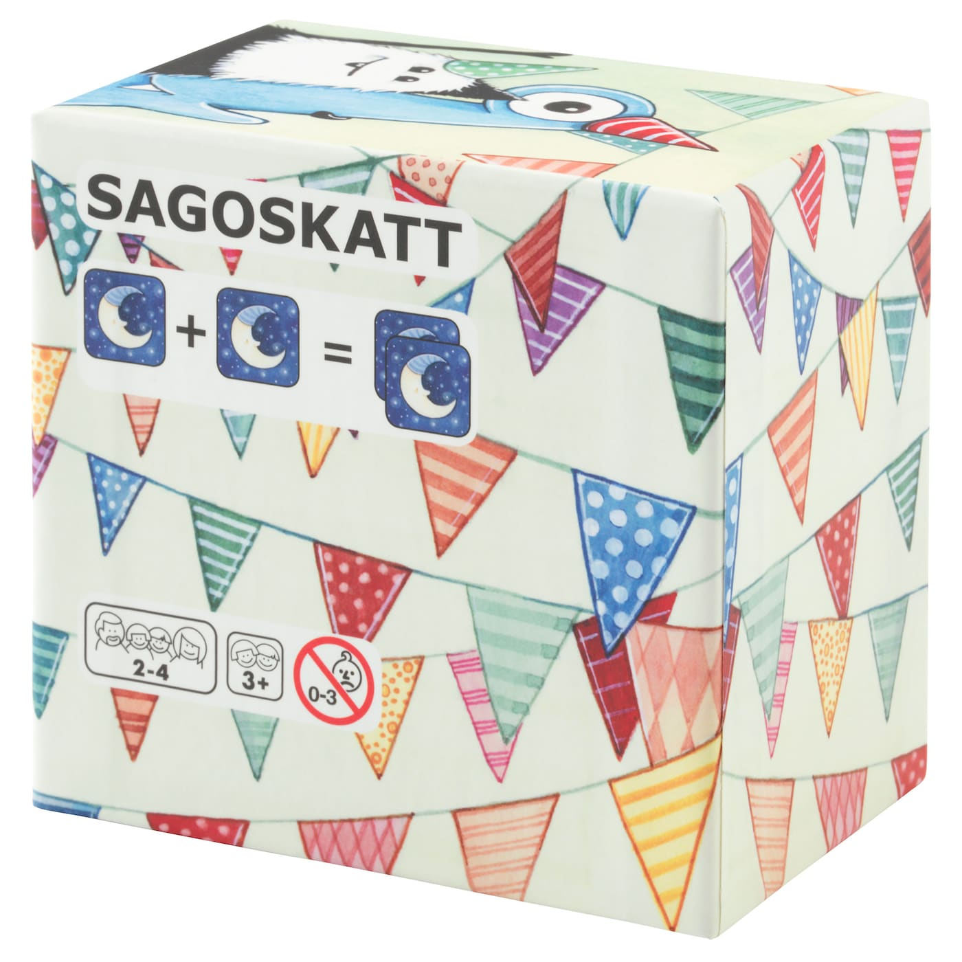 IKEA SAGOSKATT card game, 17 pairs
