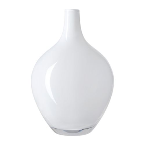 IKEA SALONG vase Mouth blown; each vase has been shaped by a skilled craftsman.