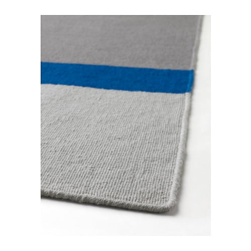 IKEA SALTBÄK rug, flatwoven Easy to vacuum thanks to its flat surface.