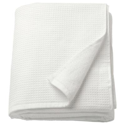 SALVIKEN Bath sheet, white, 100x150 cm