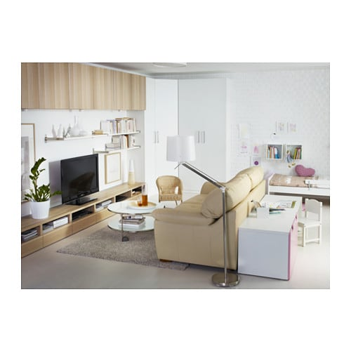Ikea Brasa Floor Lamp White ~ IKEA SAMTID floor reading lamp Gives both directed and diffused light