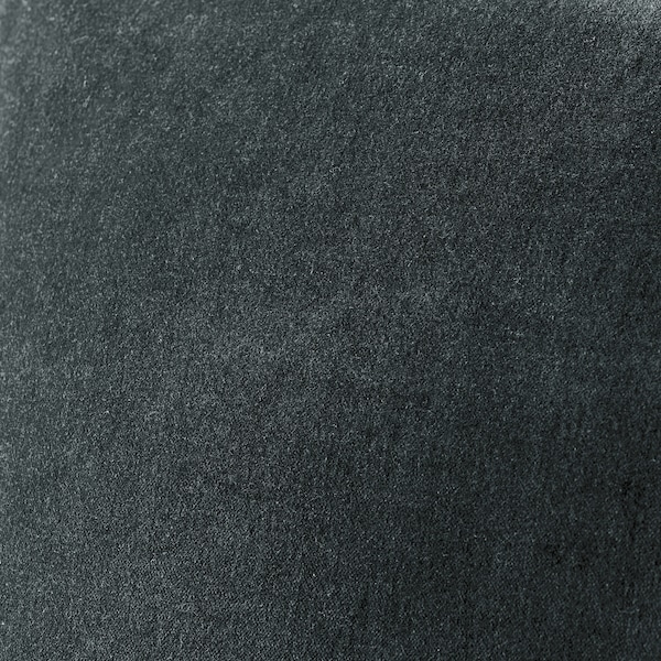 SANELA cushion cover dark grey 40 cm 65 cm