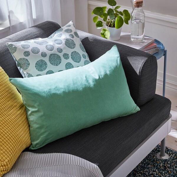SANELA Cushion cover, light green, 40x65 cm