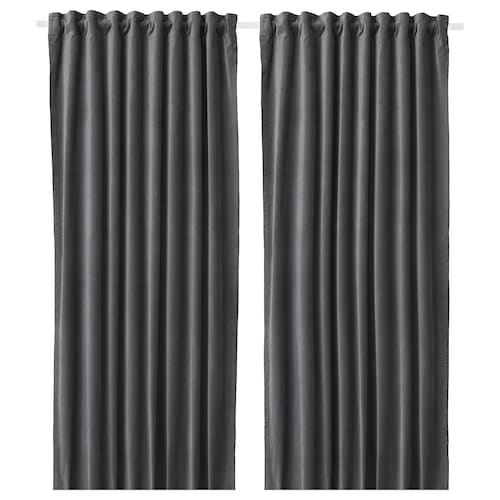 IKEA SANELA Room darkening curtains, 1 pair