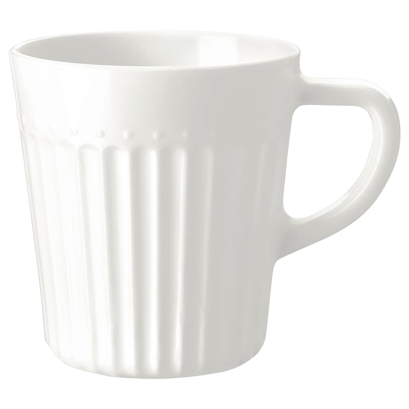 IKEA SANNING mug Made of tempered glass, which makes the mug durable and extra resistant to impact.