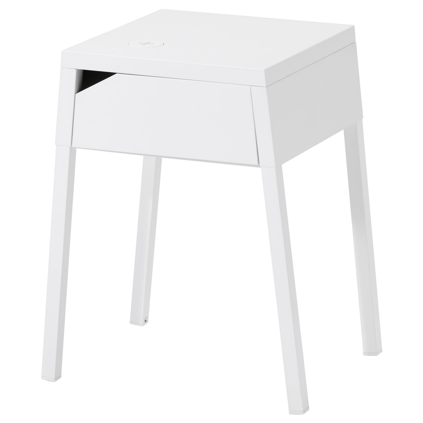 IKEA SELJE bedside table with hole for charger