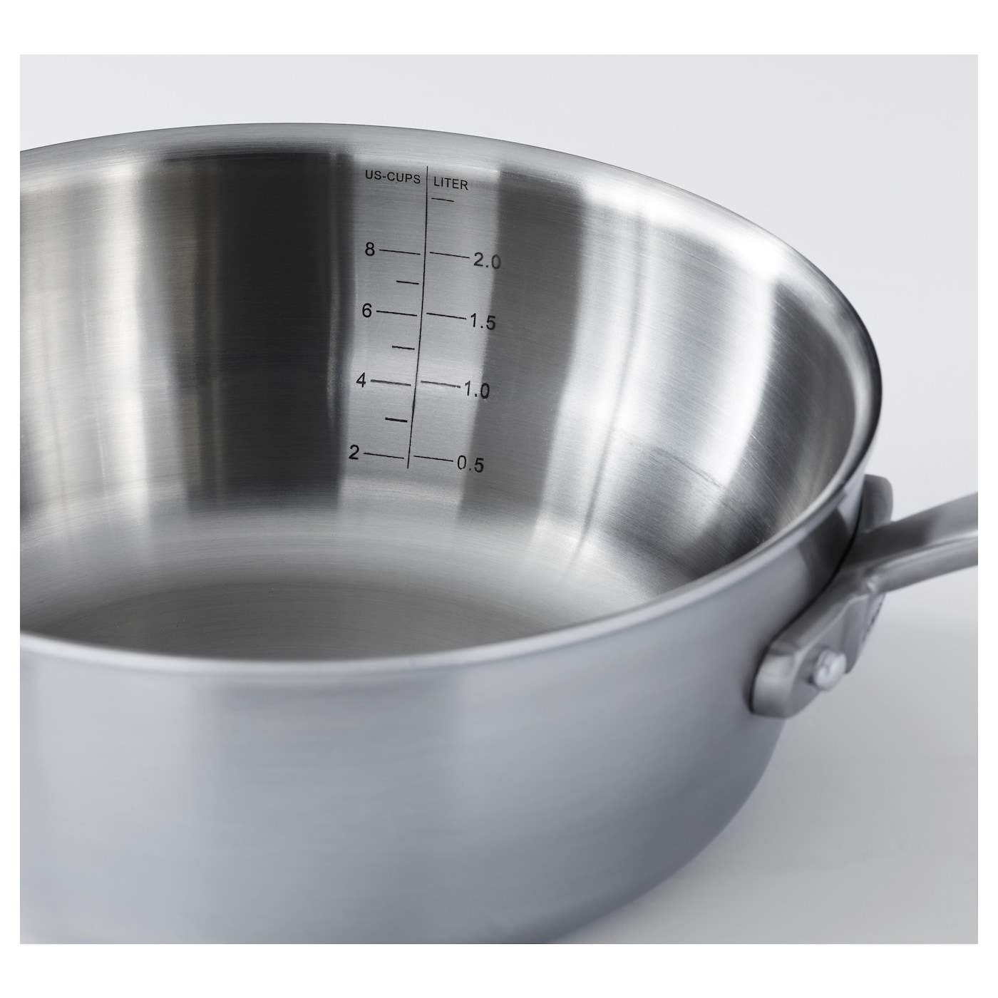 IKEA SENSUELL saucepan with lid 25 year guarantee. Read about the terms in the guarantee brochure.