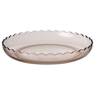 SESAMFRÖN Decoration dish, light pink, 30 cm