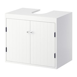 ikea silvern washbasin base cabinet w 2 doors a good solution if you are