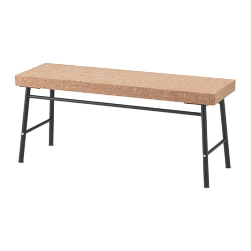 Sinnerlig Bench Cork Natural 103 Cm Ikea