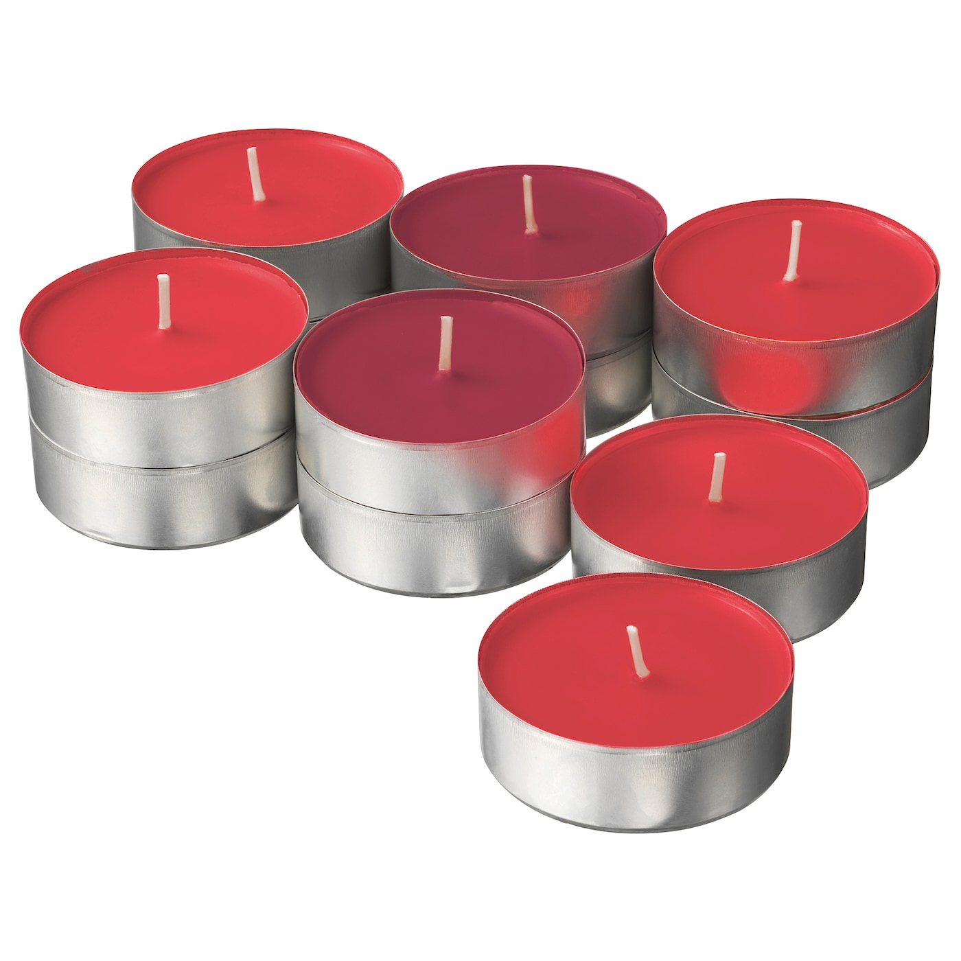 IKEA SINNLIG scented candle in metal cup
