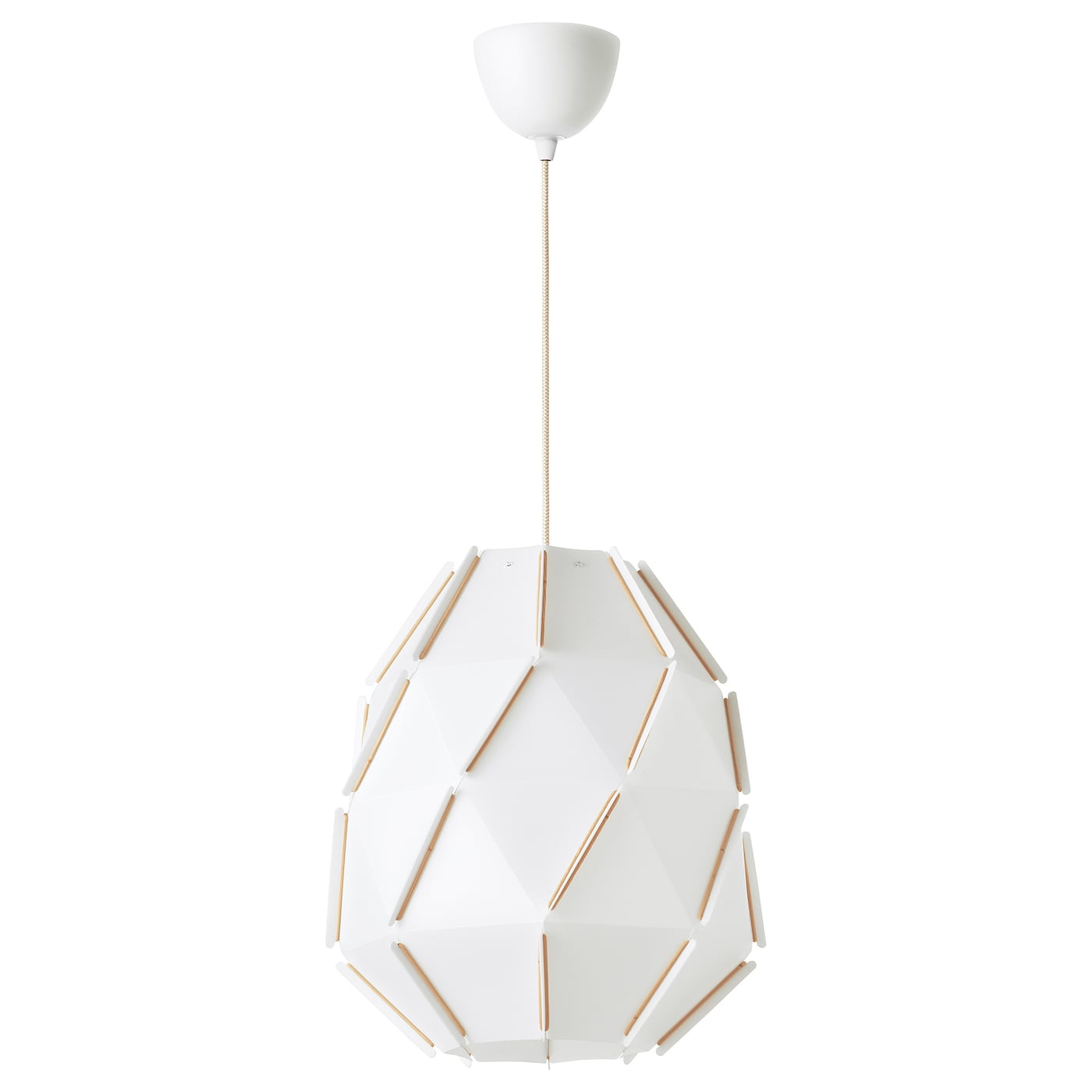 IKEA SJÖPENNA pendant lamp Diffused light that provides good general light in the room.