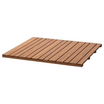 SJÄLLAND Table top, light brown, 67x67 cm